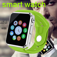New W8 Bluetooth Smart Watch Support for iPhone 4/4S/5/5S/6/6+ Samsung S4/Note/s6 Android Phone