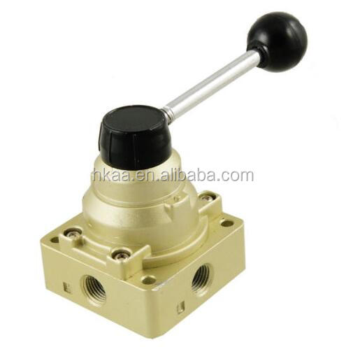 High Quality Air Flow Control 4 Ways Hand Valve