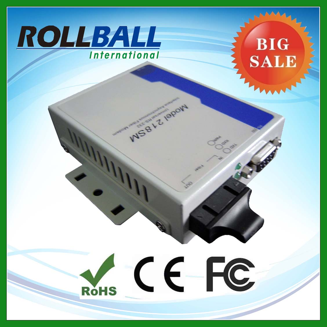 high quality oem ethernet serial rs232 multiplexer