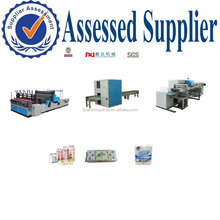 Fully Auto toilet roll paper kitchen towel machine production line