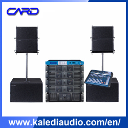 Festival Concert Equipment Vertical Installation line array speaker price in india