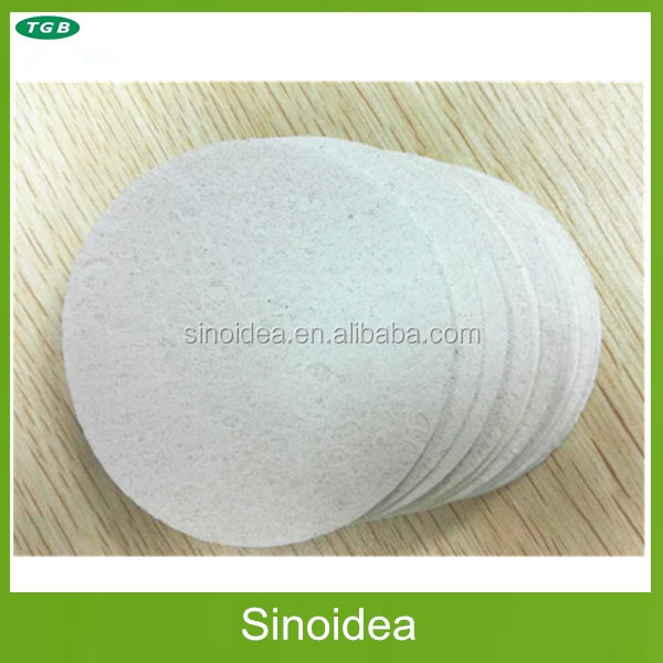 Compressed Natural Cosmetic cellulose sponge,