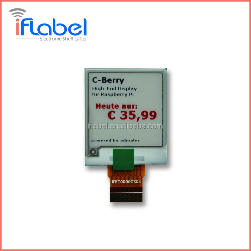 hot sale e ink color display <strong>1</strong>.54'' with 200x200 resolutions