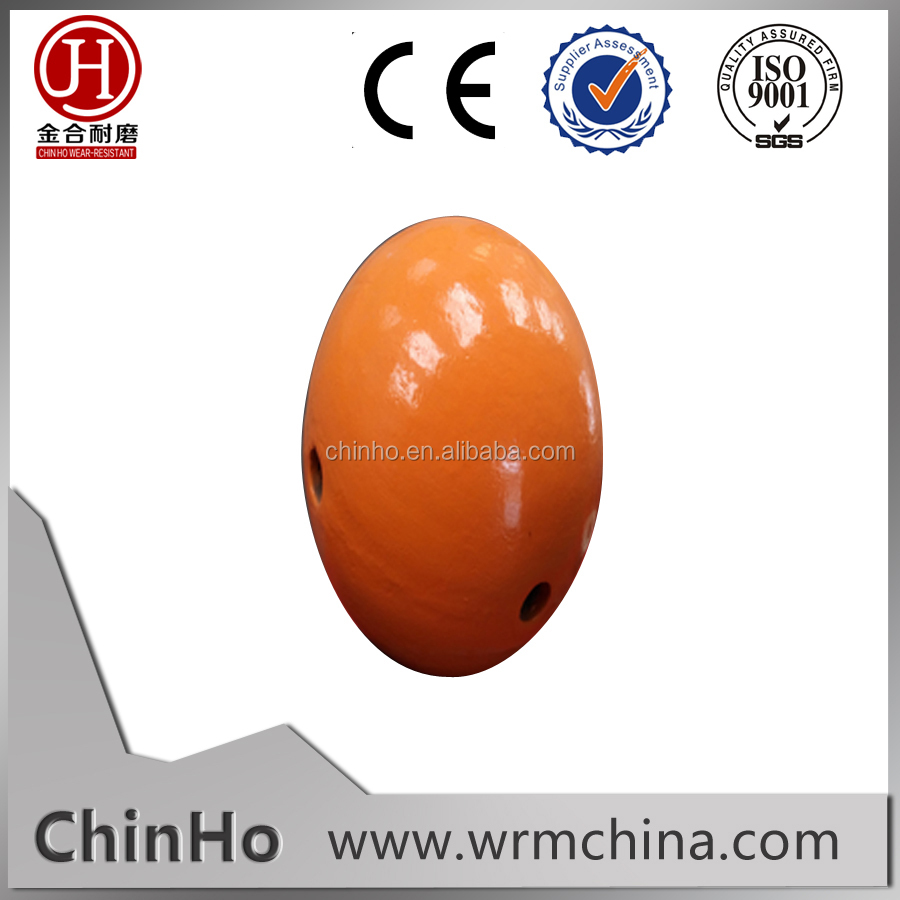 high mangaese steel hollow mill ball for vertical mill machine