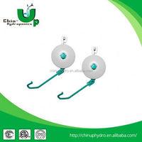 Hydroponics Easy Roller/Grow Yo Yo/Plant Yo Yo Hooks heavy duty rope reflector hanger yoyo set