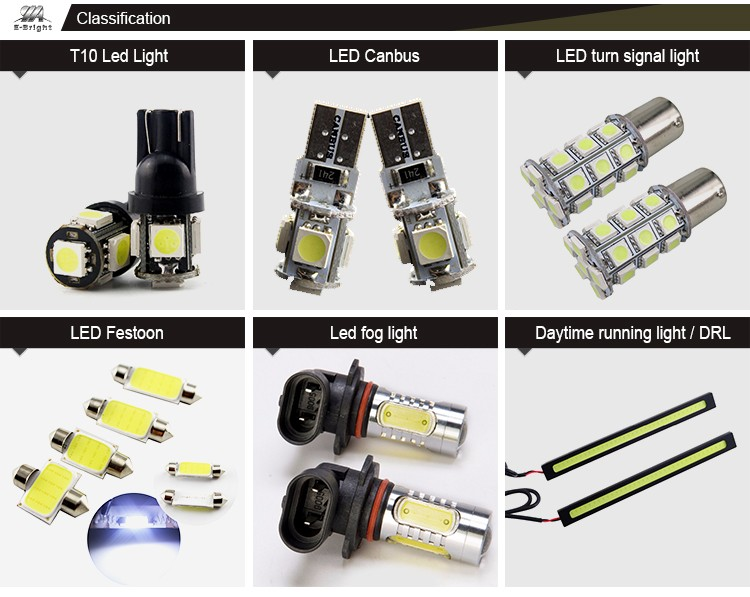 2016 super bright 6v led festoon bulbs 360 Lumens C5W canbus