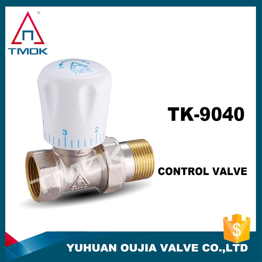 Thermostatic Brass Body Control Valve Shower Faucet Set Brass Thermostatic Radiator Valve Made In China