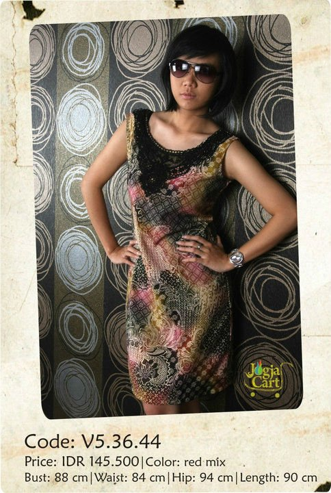 Casual Batik dress 1