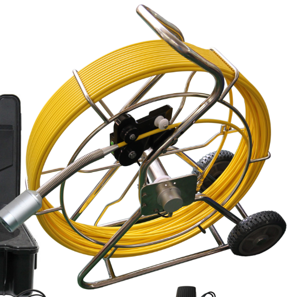 50MM Self level Sewer Pipe Inspection Camera with FM 512HZ Transmitter