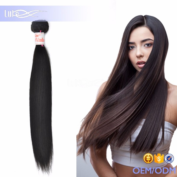 100% Human Hair Extension India Hair Pieces For Top Of Head