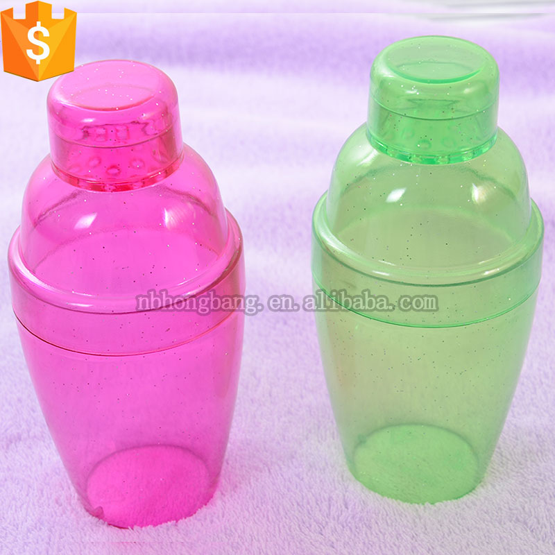 Hot sale High quality 200ml plastic cocktail shaker