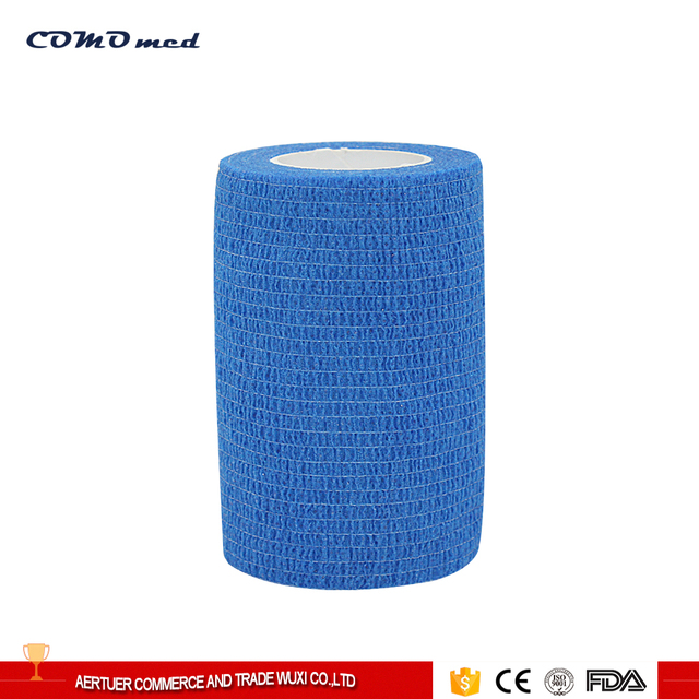 Breathable cotton non slip elastic bandage with CE certificate