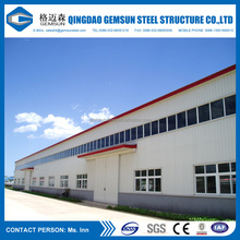 Low cost prefabricated metal building steel structure warehouse