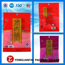 nice looking three sides seal sterile plastic bags for food