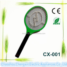 New design rechargeable electric kill flies bat bug zapper CE &Rohs approved