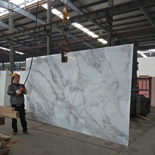 King Bird Crystallized Nano Artificial White Calacatta Marble