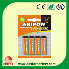 OEM 1.5v AA size r6p battery dry cell battery with china wholesale price of dry battery