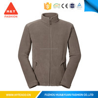 2015 New design wholesale blank fleece jacket plain varsity fleece jackets---7 years alibaba experience