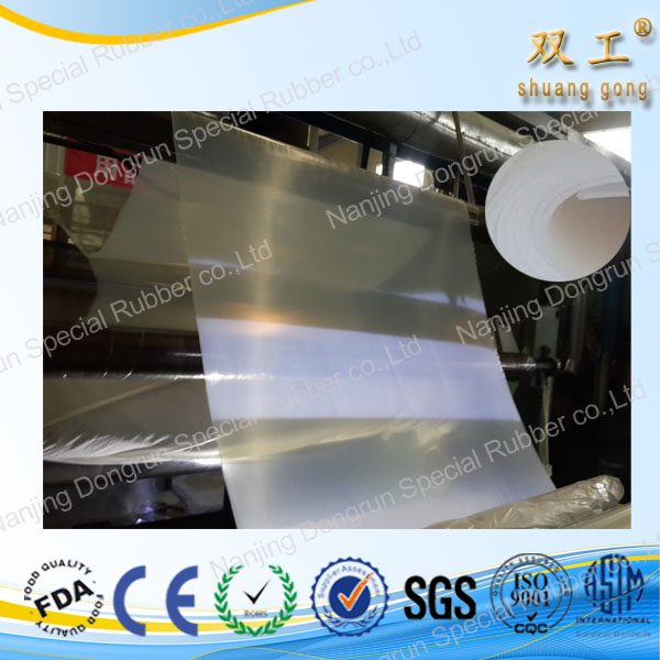 silicon heat rubber sheet