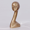 2017 wholesale gold mannequin head for wigs