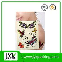 China wholesale Butterfly temporary tattoo sticker