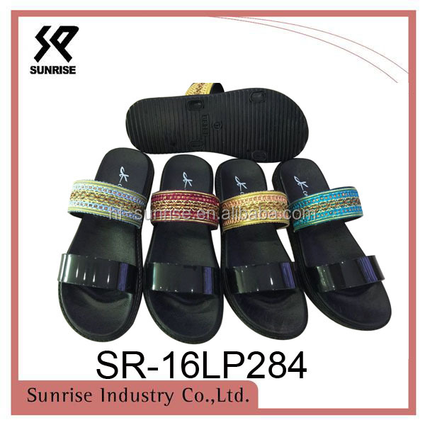 New outdoor slip on lades shoes women sandals