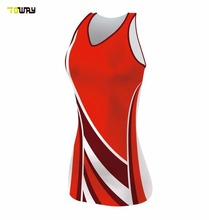 sublimation girls sexy netball dresses