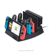 Multi-function Charging Dock Stand Charger Station Storage Stand For Nintendo Switch NS Console and Joycon Switch Pro Controller