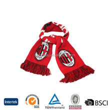 wholesale best quality promotional custom design cheap jacquard women acrylic knitted scarves