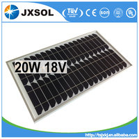 High efficiency 20w mono solar panel pv panel solar best price