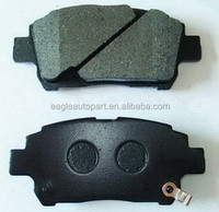 chinese brake pads 04465-12580 For Lexus Toyota Vois