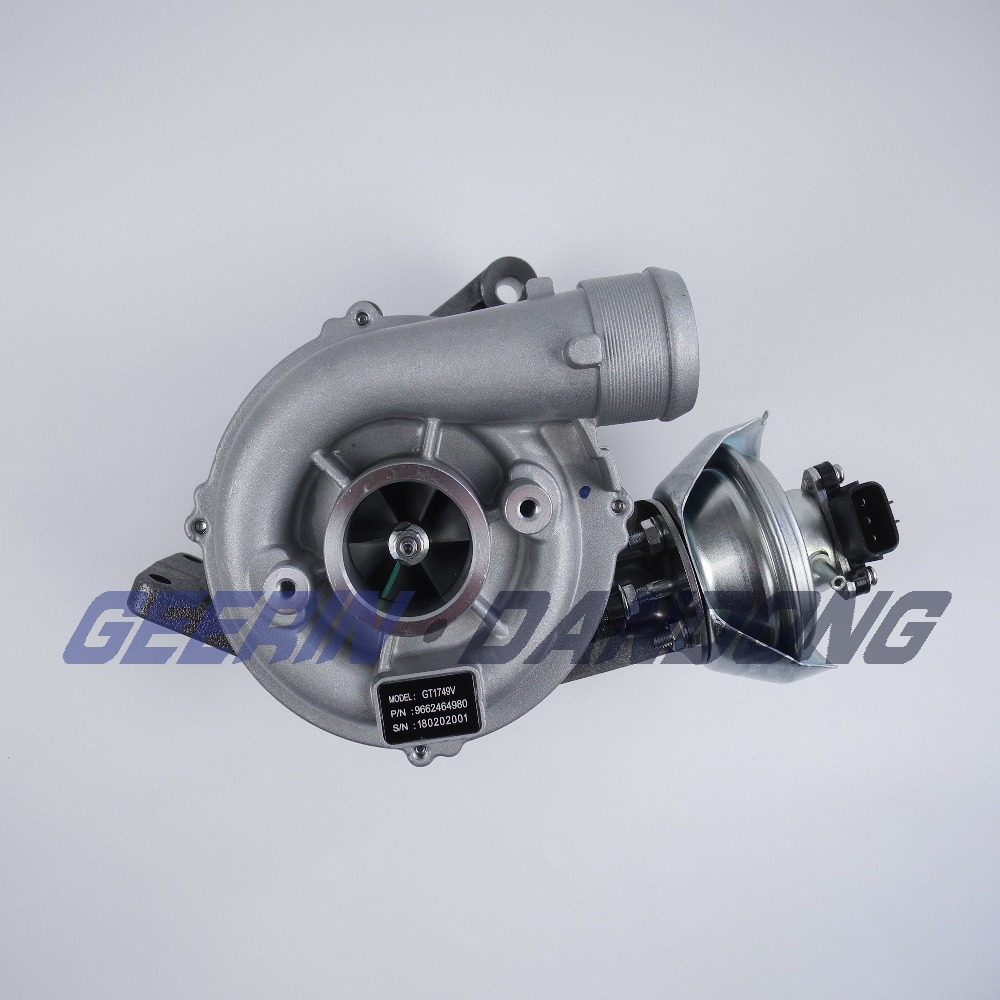 China TURBO GT1749V 760774-0003 728768-0005 3M5Q6K682BA 1231955 1327582 with DW10BTED for Ford C-MAX 2.0 TDCi Turbocharger