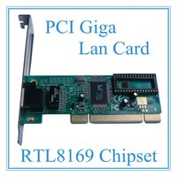 The cheapest price of PCI Giga Lan Card With RTL8169 Chipset