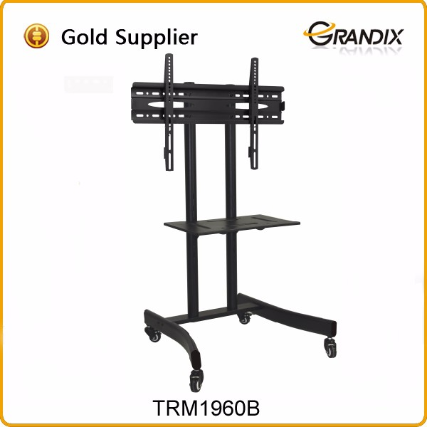Simple style mounting bracket mobile tv stand modern