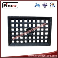 Fashion not easy deformation cast iron grate top quality