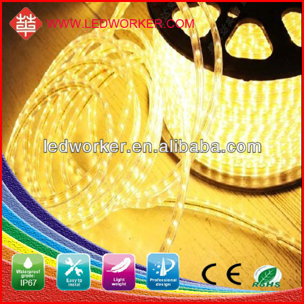China manufacturer 100m/Roll high voltage strip led cristmas lights 3528 lowes christmas decorations 2013
