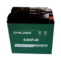 12v45AH sealed lead acid(SLA) rechargeable battery for electric motorcycle