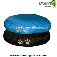 brown stuffing pet dog beds