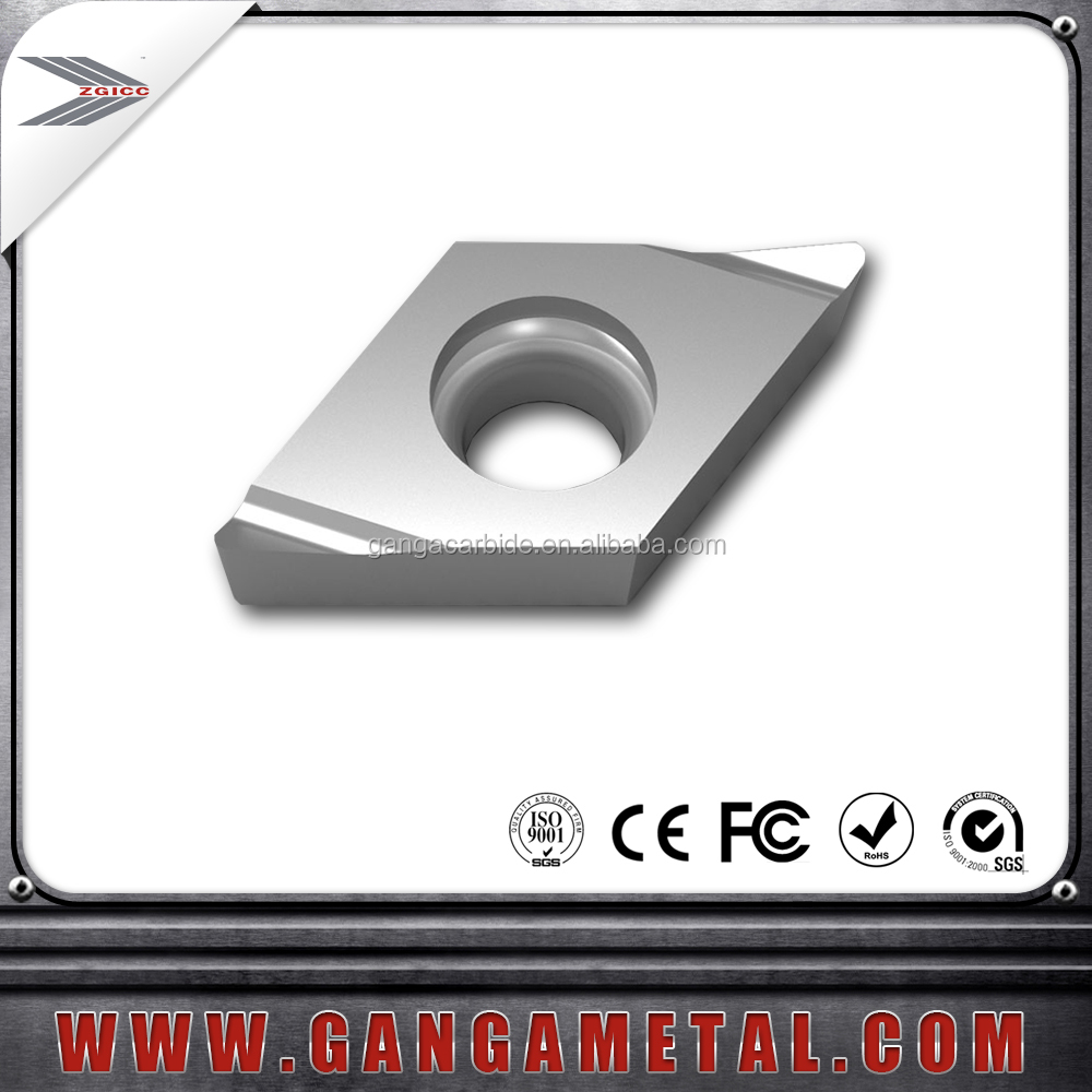 Carbide cnc turning inserts/indexable cutter for aluminum,cnc turning inserts