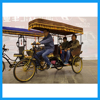 Classical Downtown Tourism Vehicel 3 Wheel Pedicab with Carriage