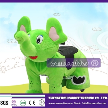 amusement parks kiddie for sale battery operated plush animal rides