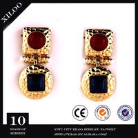 Beautiful simple gold earring designs for women
