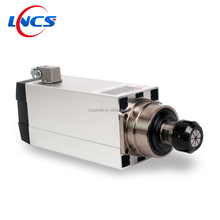 1.5KW Electric AC Spindle Synchronous Air Cooled Spindle Motor