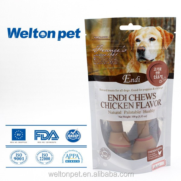Cheap All Breeds Fit BBQ Flavor Dog Treats