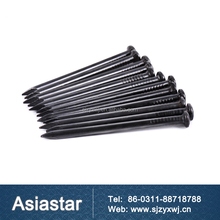 High strength black concrete nails steel nails