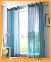 Factory hot sale sheer curtains and drapes for living room in 2015