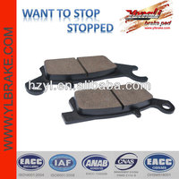 China non-asbestos brake pad mini quad atv parts