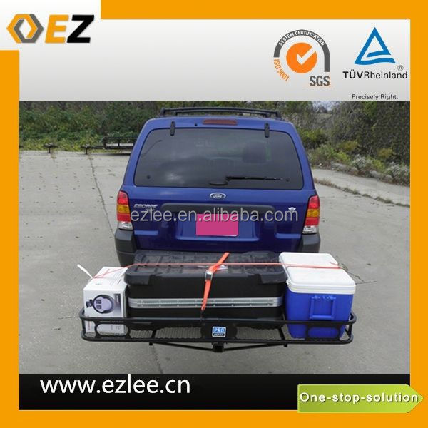 install car roof rack cargo baskets