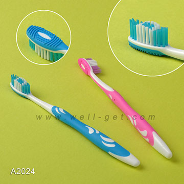 100% Pure Material Wholesale Toothbrush Adult with Personalized Name