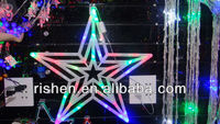 2013 Big star led outdoor and indoor christmas colorful lights led